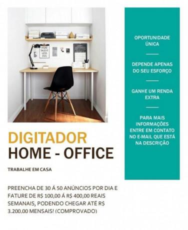 digitador de marketing online emprego