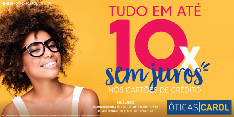 Óticas Carol Paulo Afonso 965654ca27