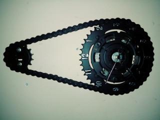 Relógios feitos apartir de relação de motos.100%artesanais