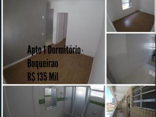Apartamento 1 dormitorio 1 vaga de garagem Boqueirão  PG