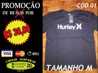 Camisetas Surfwear de R$ 35 por R$ 30