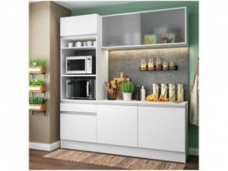 Cozinha Compacta Madesa Ametista G20086 com Balcão - Nicho para Forno