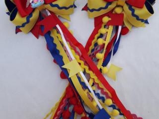 Laços e tiaras personalizadas