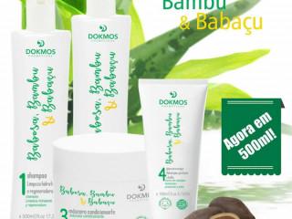 BABOSA - BAMBU - BABAÇU - Kit Capilar