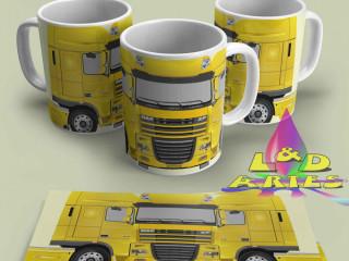 Pacote Arte Caneca Sublimação Caminhao Truck 8 Modelos +COMBI+FUSCA