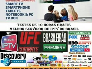 IPTV via internet Todos Canais liberados