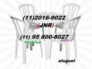 locação de mesas e cadeiras ferraz 11 2016-9022 aluguel 24horas