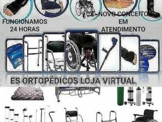 Aluguel de muletas,cadeiras de rodas e banho,Andadores,bota robofoot,