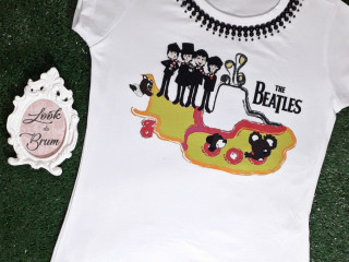 T-shirts bordadas
