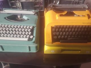 Maquinas de escrever