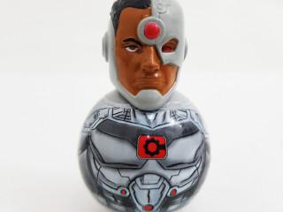 Boneco liga da justiça Cyborg DC fun and arts Bobs