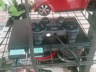 Vr box com controle bluetooth e ps2 com 50 jogos