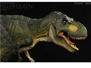 Dinossauro Tiranossauro Rebor Killer Queen Jungle