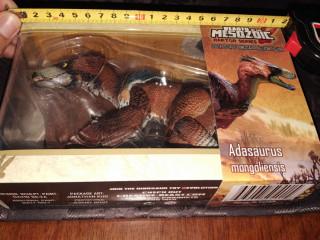 Dinossauro Raptor Adasaurus Mongolienses