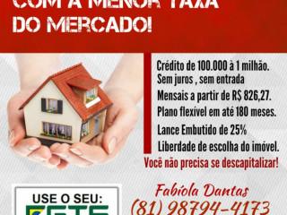 Linha de crédito imobiliário