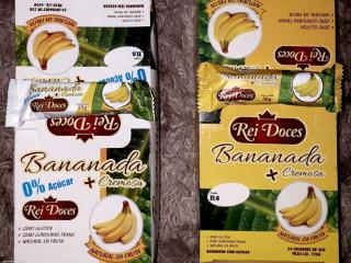 Rei doces - Bananinha Cremosa