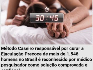 EJACULAÇÃO  PRECOCE NUNCA MAS