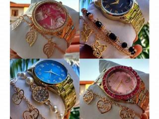 Relógio com pulseira