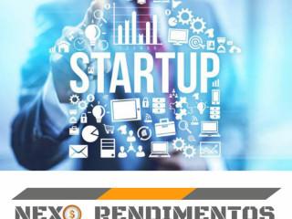 Oportunidade de rendimentos on line, investimento em Startups.
