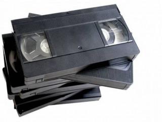 Pago por Fita VHS de Vídeo Cassete com filmes gravados da TV