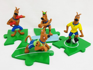 Coleção Bobs Scooby doo olimpíadas