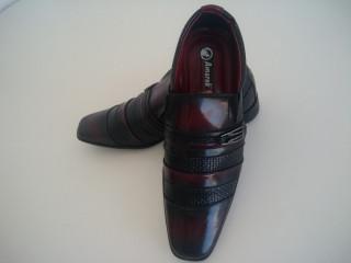 Sapato Social Masculino Amarok Verniz Vermelho Verniz 39
