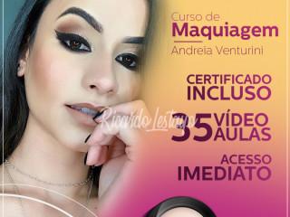 Curso maquiagem na web com Andréia Venturini