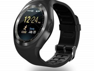 Relógio Smartwatch Y1 Inteligente Bluetooth Android & Ios Preto