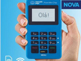 Maquina de Cartão Mercado Pago Point Pro chip