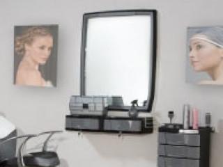 Bancada Para Salão Dompel Com Espelho