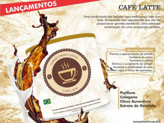 Café PRIME funcional. É um café com mais de 40 benefícios.