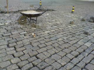 Reforma  Paralelepipedos Pisos Intertravados e pedras rusticas economi