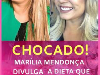 Dieta da Marília Mendonça