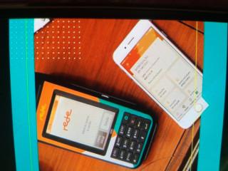 Máquina de cartão de crédito Rede e Mega pop