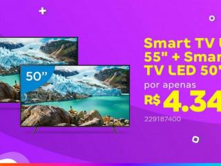 Promoçao tvs leve duas por um preço so