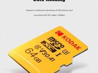 Cartão de memória TF 64gb kodak classe 10 4k