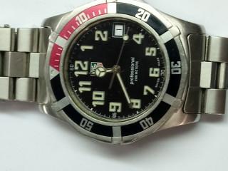 Relógio marca Tag Heur  sport aço