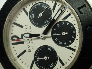 Relógio marca Byugari alumínio cronografo automático