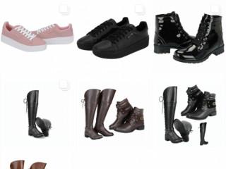 Temos vários modelos de bolsas e tbm vendemos botas