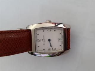 Relógio Baume mercier aço retangular quartsz