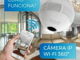 Lâmpada Espiã Lâmpada de Led com Câmera Espiã - Sua Casa Sempre Proteg