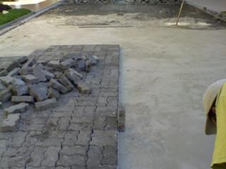 Reforma de paralelepipedos e piso intertravados, Fresa asfaltica