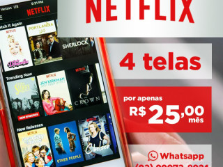 Netflix 4 Telas + Infantil