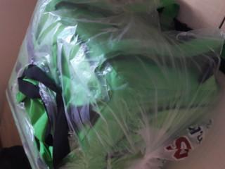 Bag com blusa manga longa para MotoBoy