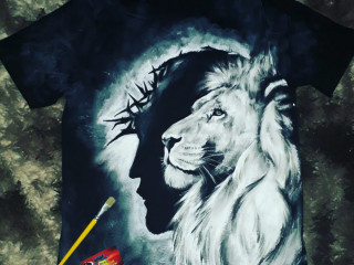 Camisetas personalizadas,pintura feita à mão.