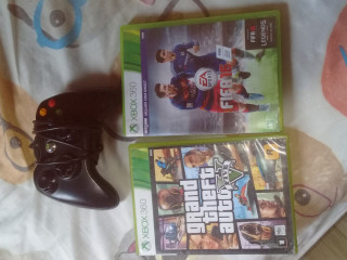 Fifa 16+GTA v+ controle Xbox 360