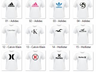 Lindas camisetas com estampas de Marcas Top Marca
