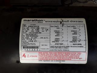 Motor marathon hp 3/4 rpm 1725