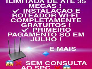 Vendedora internet oi Velox fibra