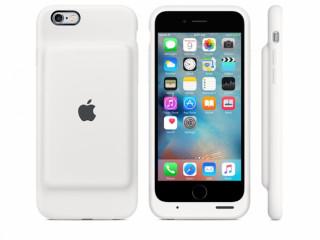 Capa Case Carregador Original iPhone 6 E 6s Apple Branca